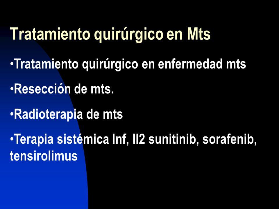 Tratamiento quirúrgico en Mts