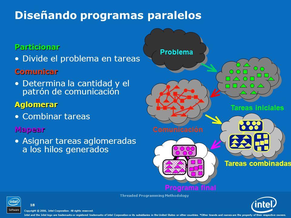 Diseñando programas paralelos