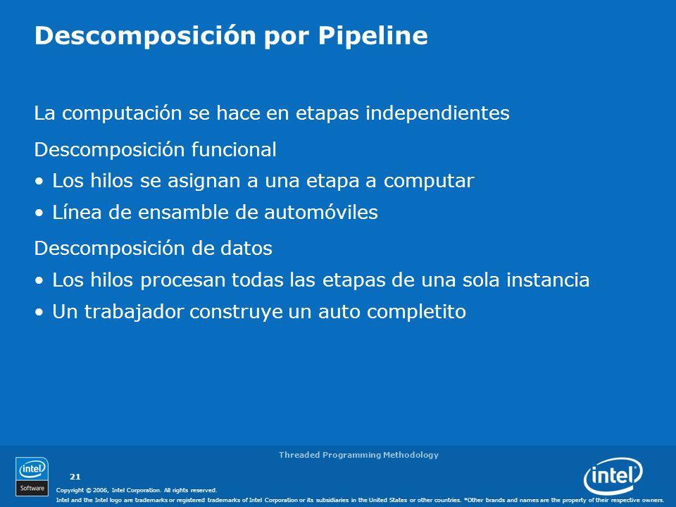 Descomposición por Pipeline