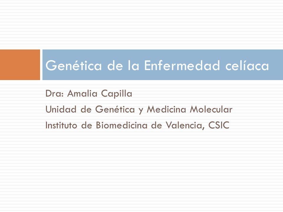 Genética de la Enfermedad celíaca