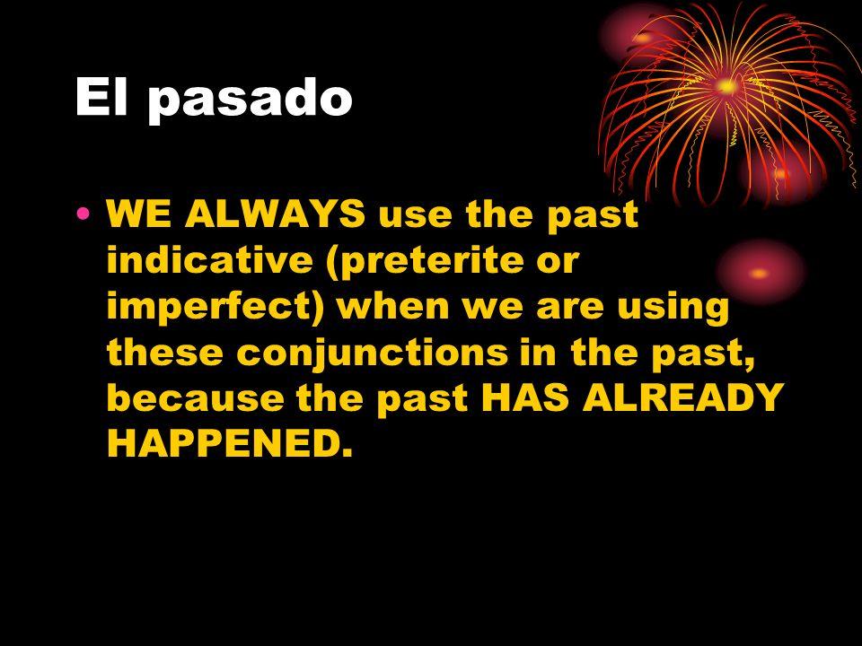El pasado