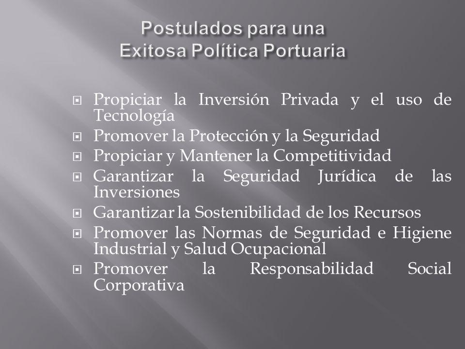 Postulados para una Exitosa Política Portuaria