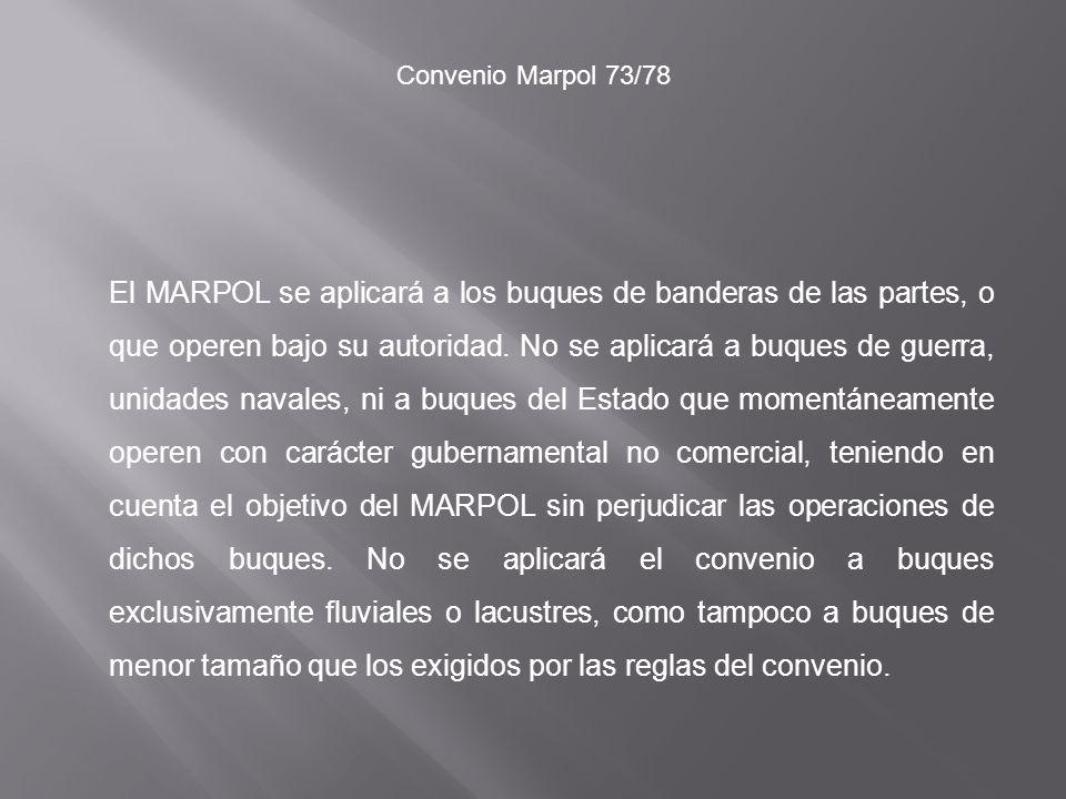 Convenio Marpol 73/78