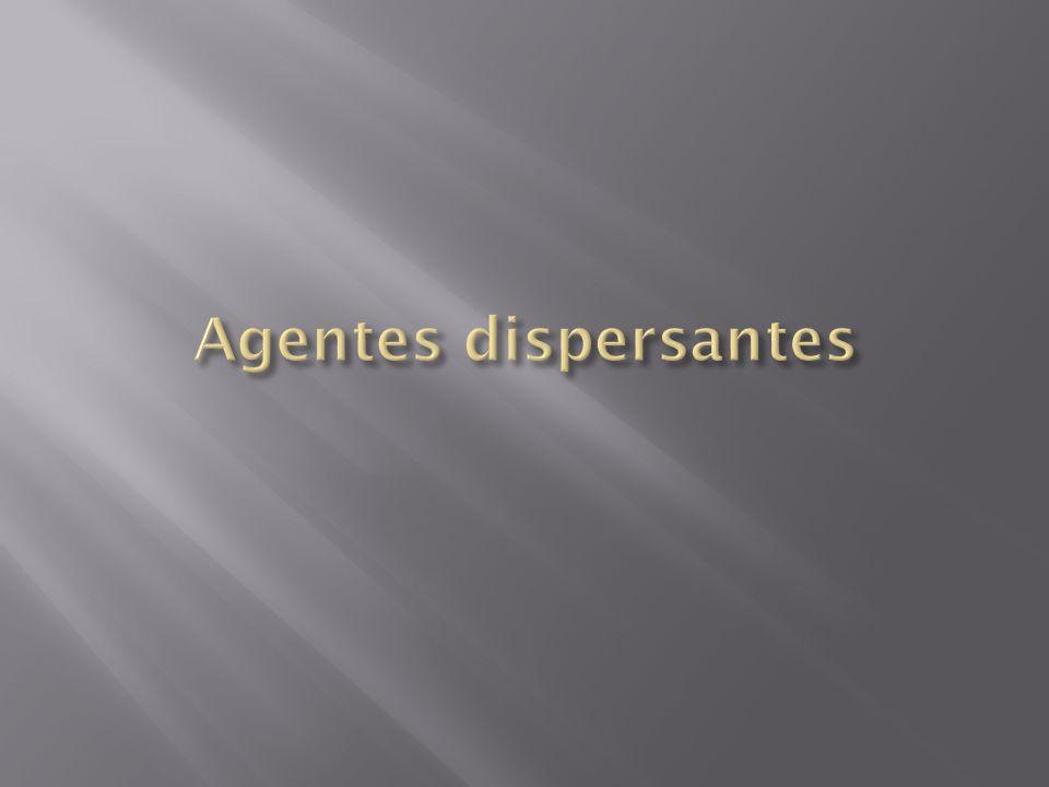 Agentes dispersantes