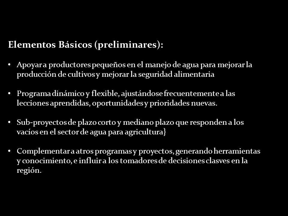 Elementos Básicos (preliminares):