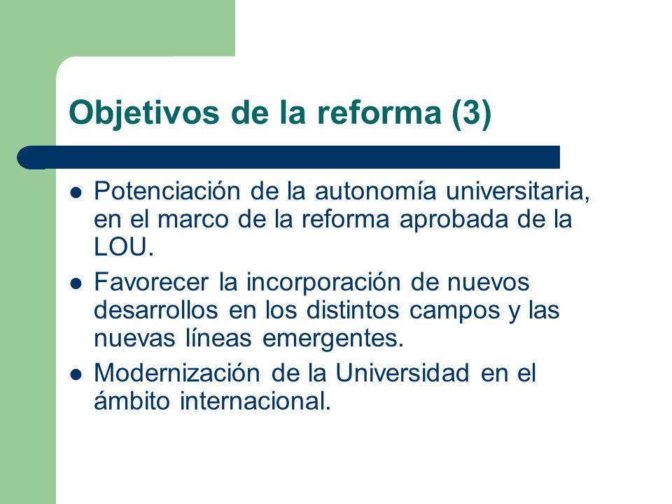 Objetivos de la reforma (3)