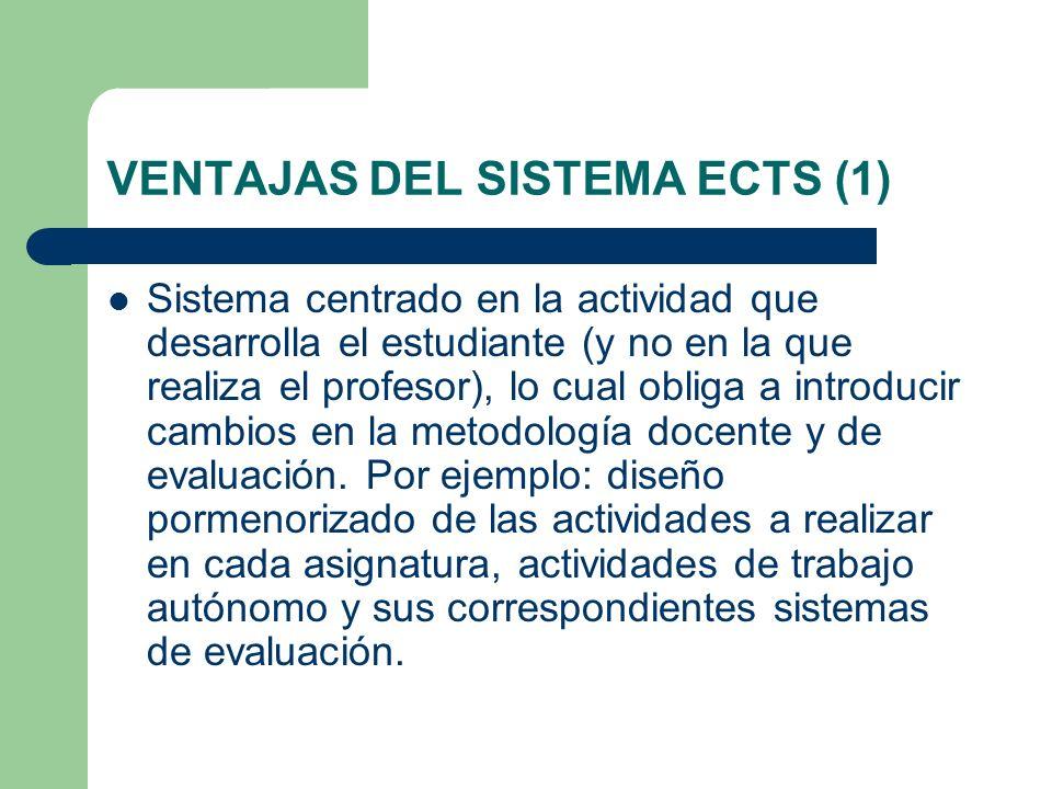 VENTAJAS DEL SISTEMA ECTS (1)