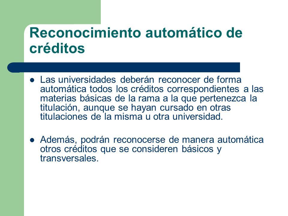 Reconocimiento automático de créditos