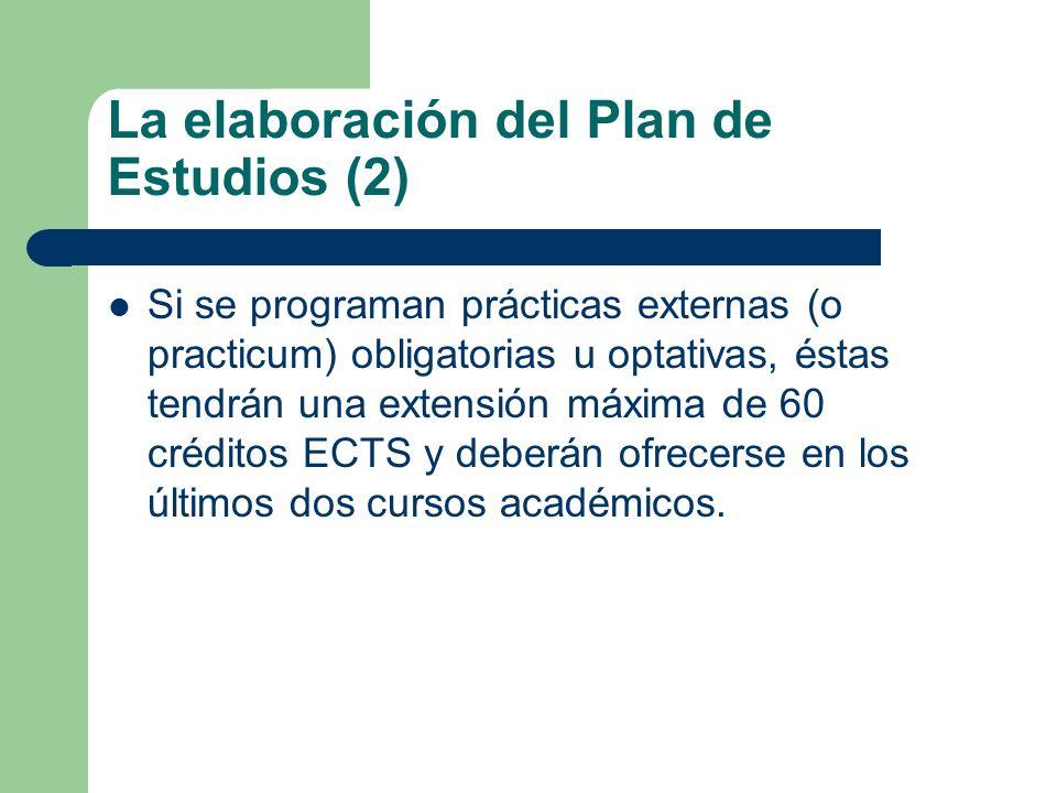 La elaboración del Plan de Estudios (2)