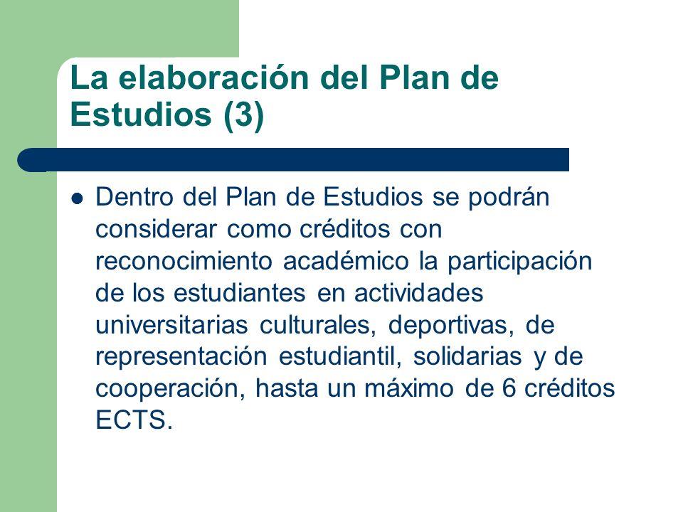 La elaboración del Plan de Estudios (3)