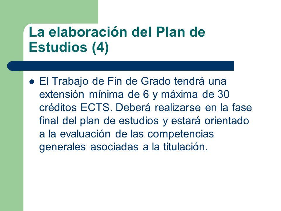 La elaboración del Plan de Estudios (4)