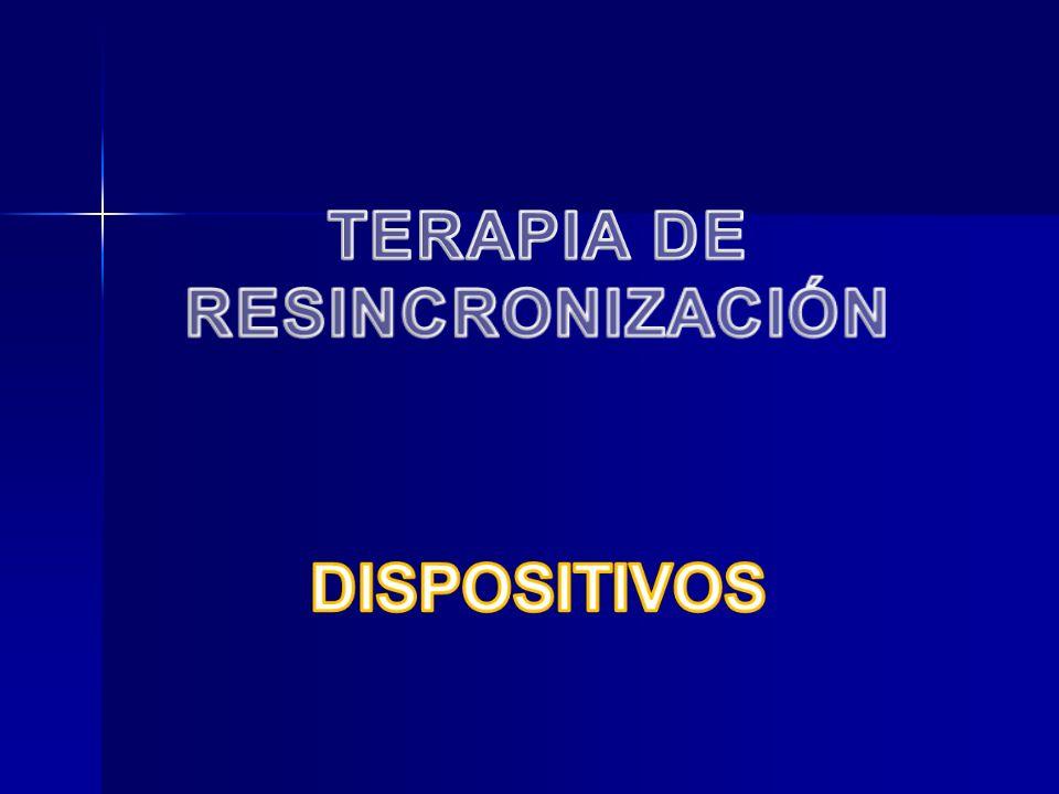 TERAPIA DE RESINCRONIZACIÓN