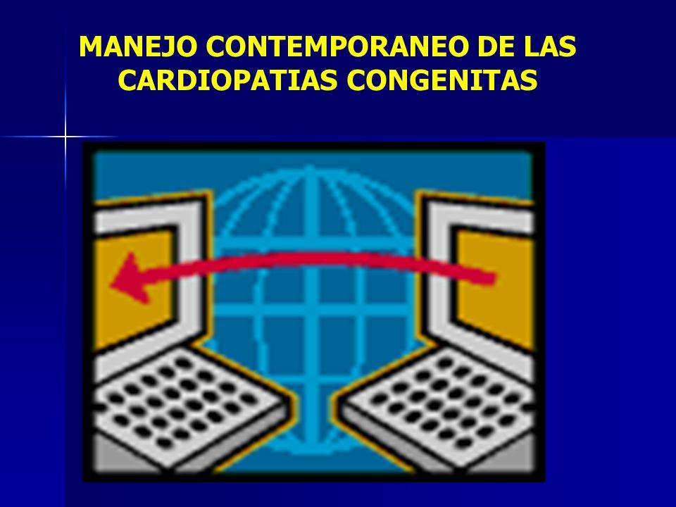 MANEJO CONTEMPORANEO DE LAS CARDIOPATIAS CONGENITAS