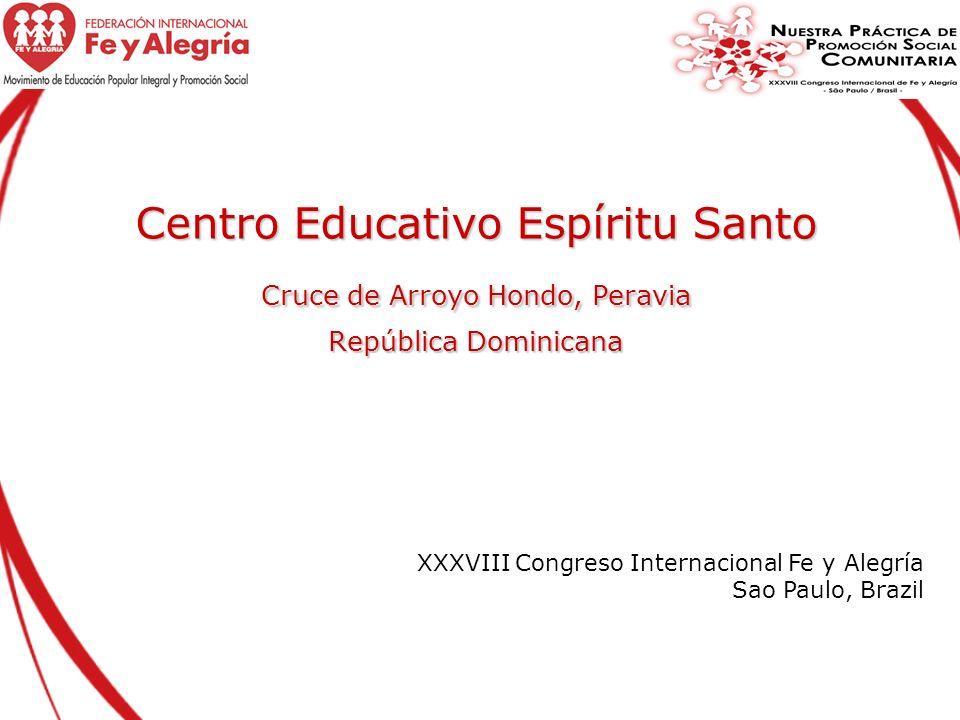 Centro Educativo Espíritu Santo Cruce de Arroyo Hondo, Peravia República Dominicana