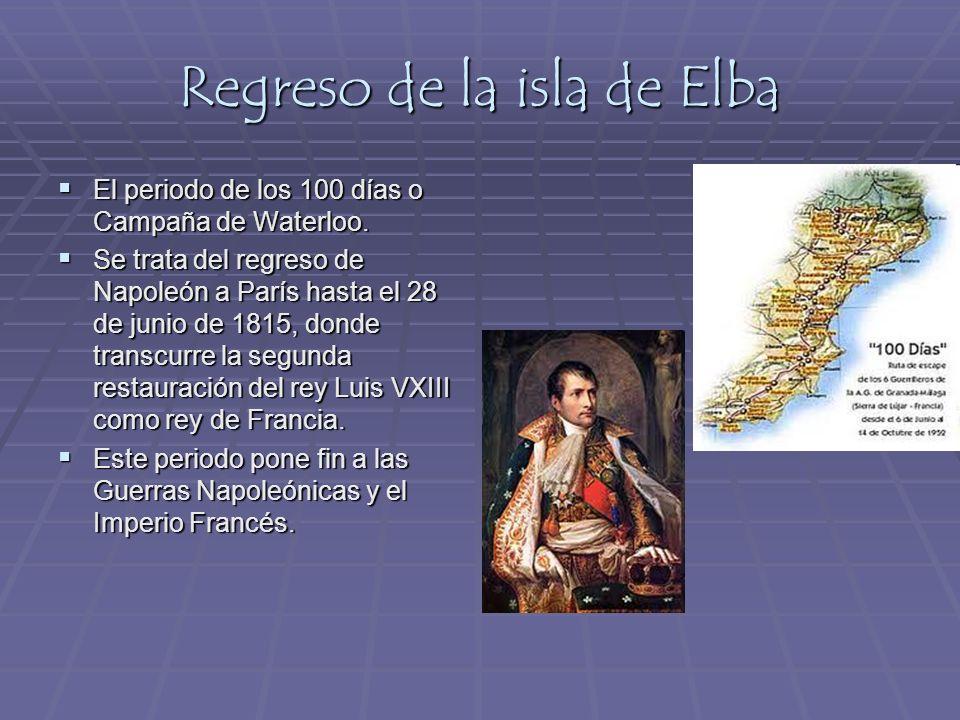 Regreso de la isla de Elba