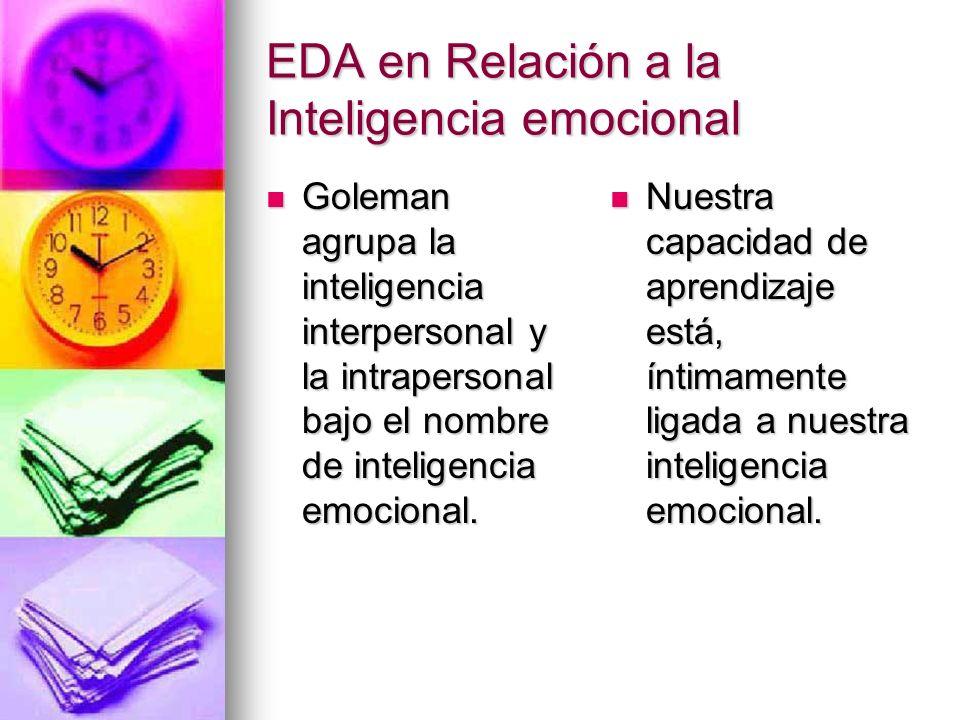 EDA en Relación a la Inteligencia emocional