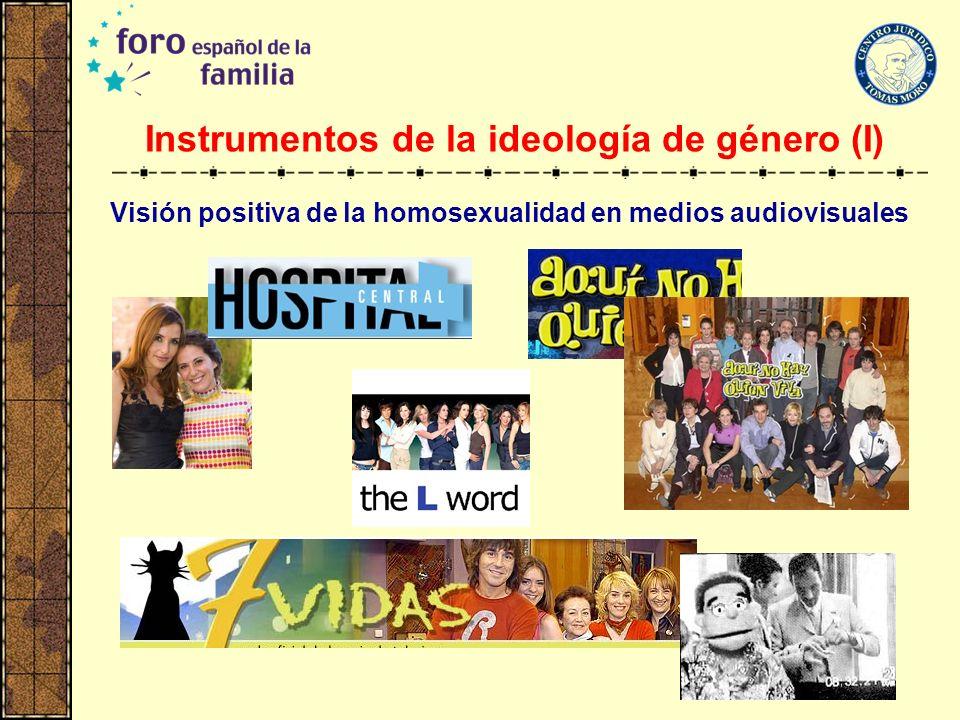 Instrumentos de la ideología de género (I)