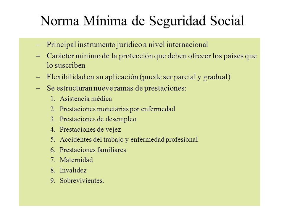 Norma Mínima de Seguridad Social