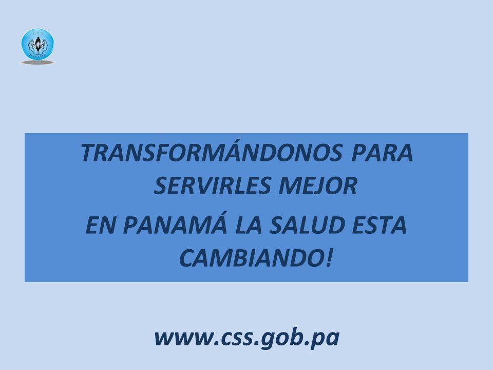 ¡MUCHAS GRACIAS! TRANSFORMÁNDONOS PARA SERVIRLES MEJOR