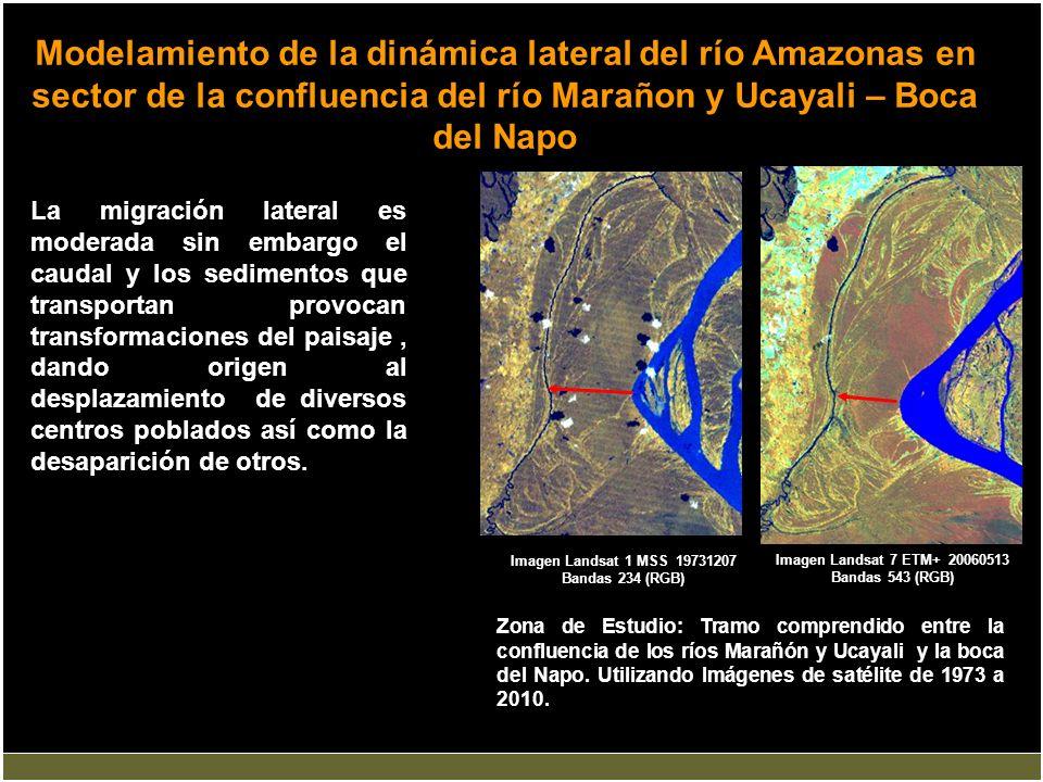 Imagen Landsat 7 ETM+ 20060513 Bandas 543 (RGB)