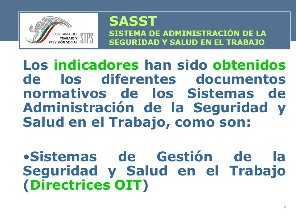 SASST SISTEMA DE ADMINISTRACIÓN DE LA SEGURIDAD Y SALUD EN EL TRABAJO