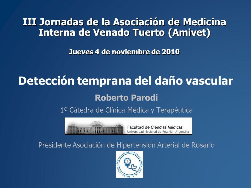Detección temprana del daño vascular