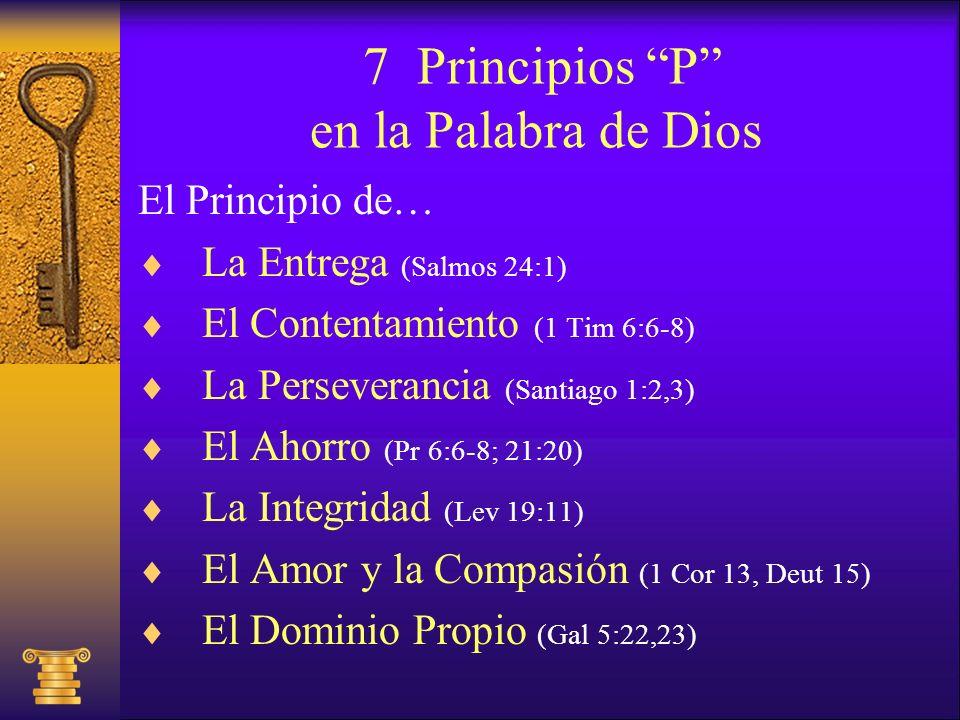 7 Principios P en la Palabra de Dios