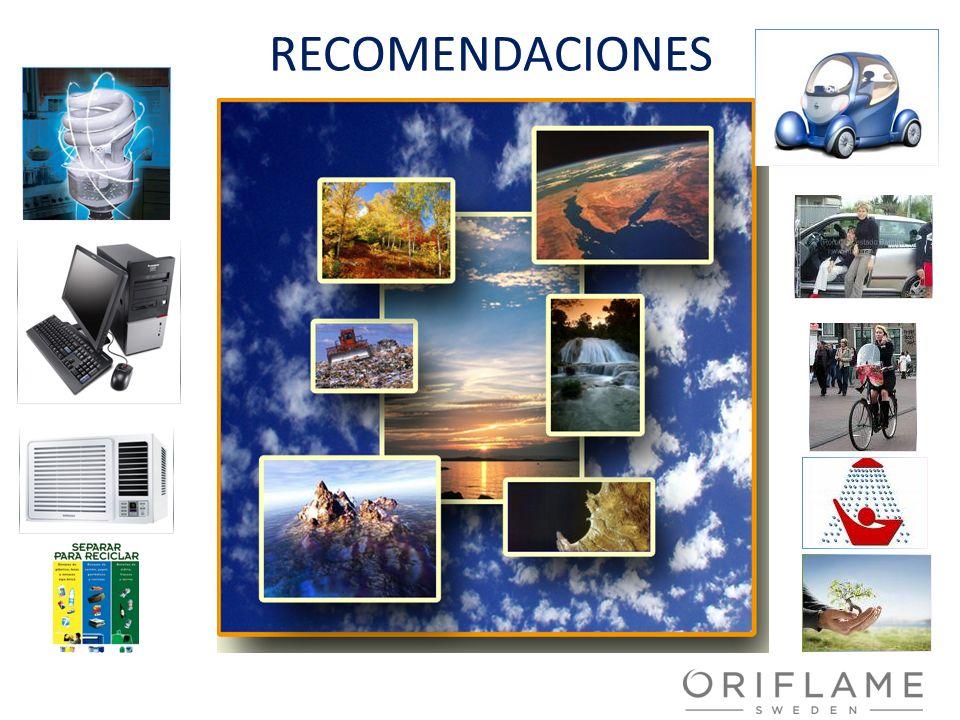 RECOMENDACIONESRECOMENDACIONES PARA LLEVAR A CABO EN NUESTROS HOGARES. CAMBIAR LOS FOCOS DE LA LUZ POR AHORADORES.