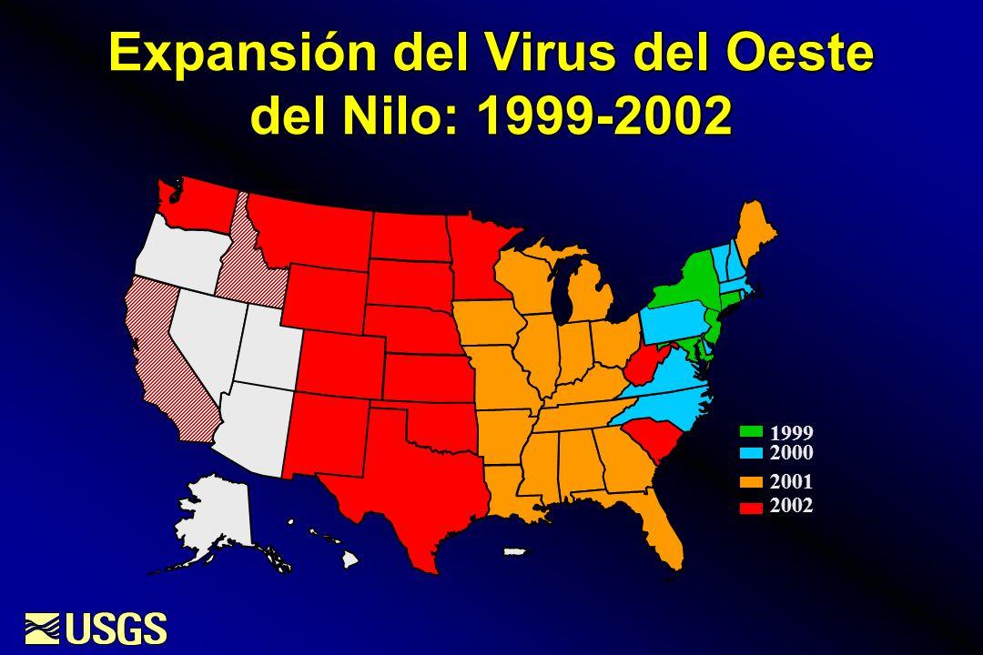 Expansión del Virus del Oeste del Nilo: 1999-2002