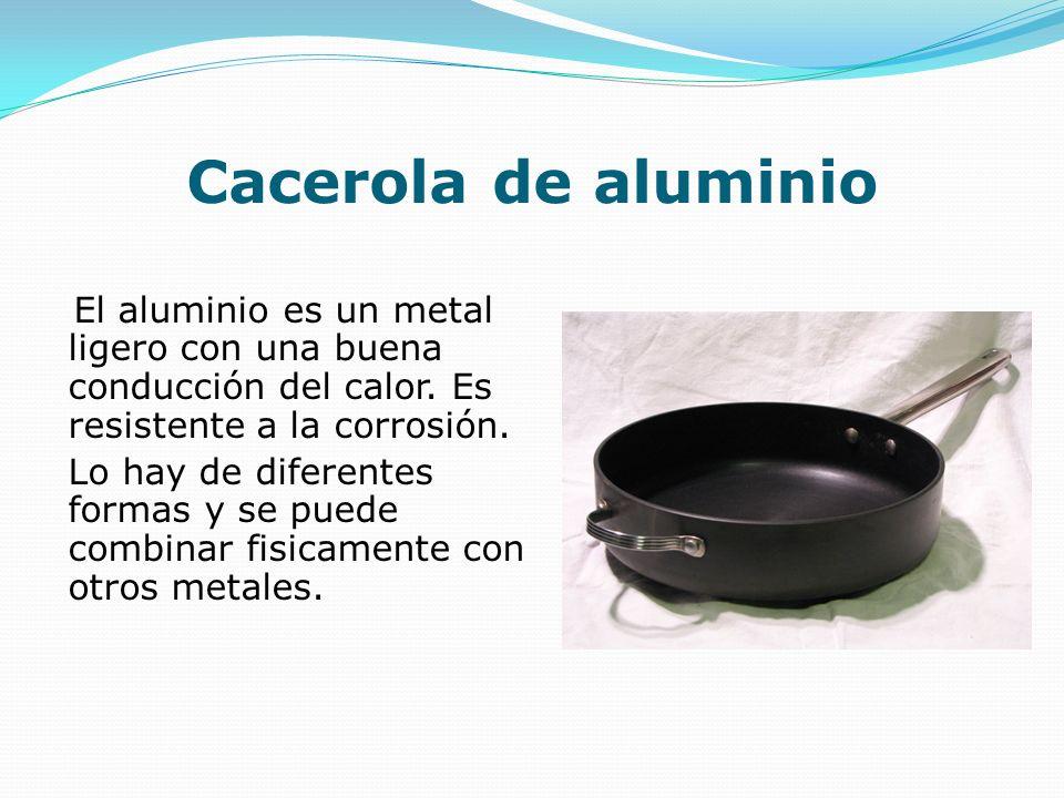 Cacerola de aluminio