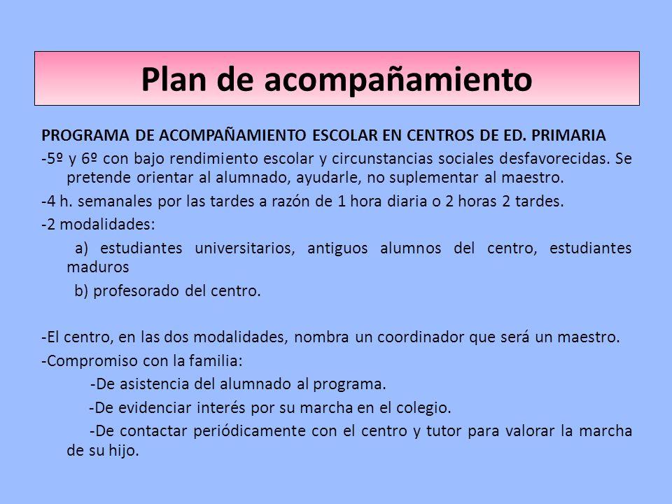 Plan de acompañamiento