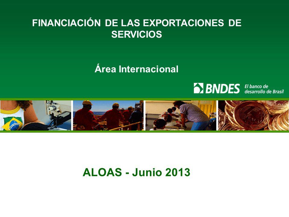 FINANCIACIÓN DE LAS EXPORTACIONES DE SERVICIOS