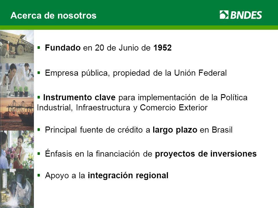 Acerca de nosotros Fundado en 20 de Junio de 1952