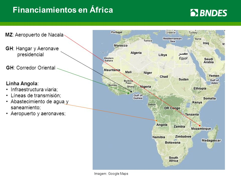 Financiamientos en África