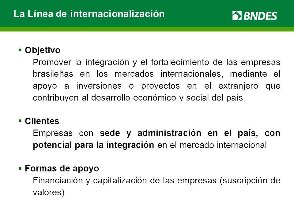La Línea de internacionalización