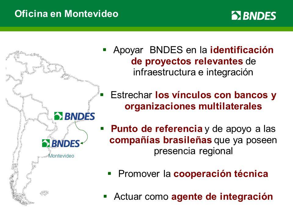 Estrechar los vínculos con bancos y organizaciones multilaterales