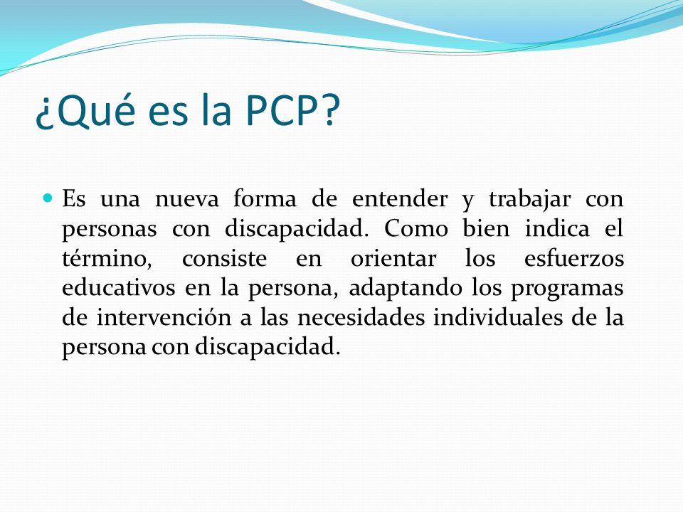 ¿Qué es la PCP