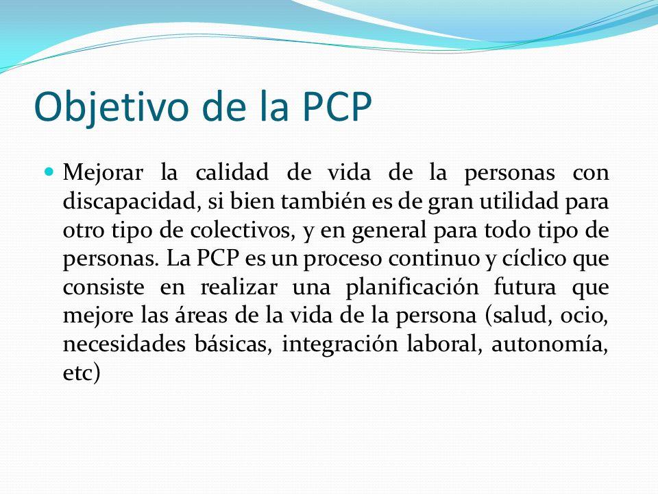 Objetivo de la PCP