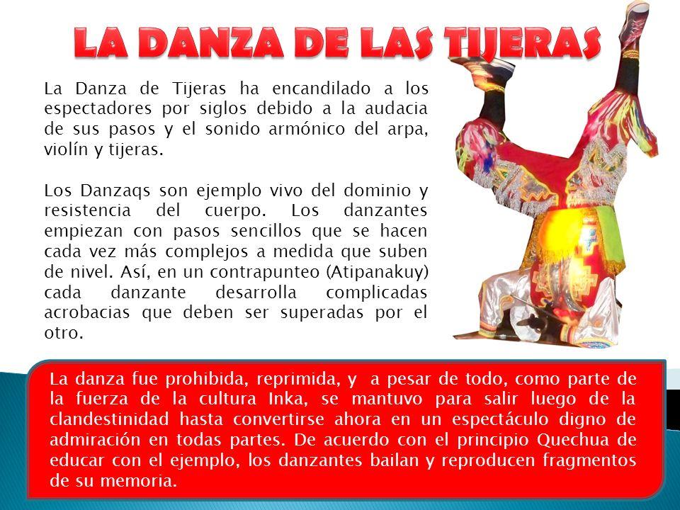 LA DANZA DE LAS TIJERAS
