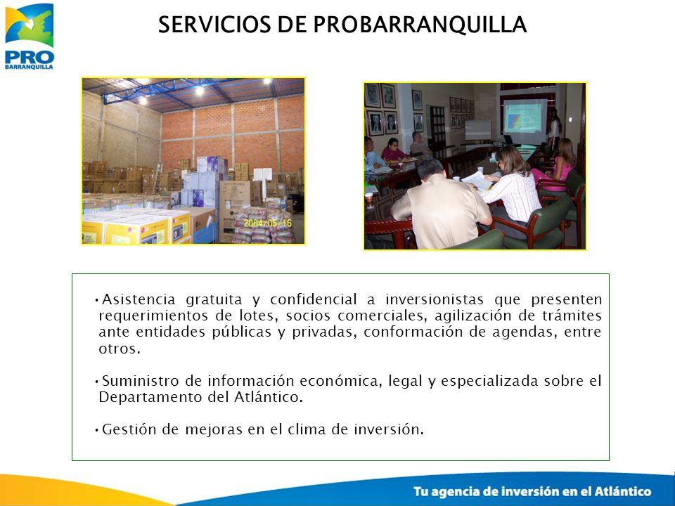 SERVICIOS DE PROBARRANQUILLA