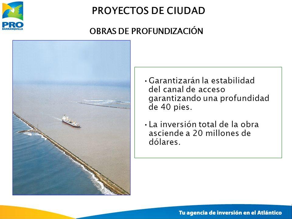 OBRAS DE PROFUNDIZACIÓN