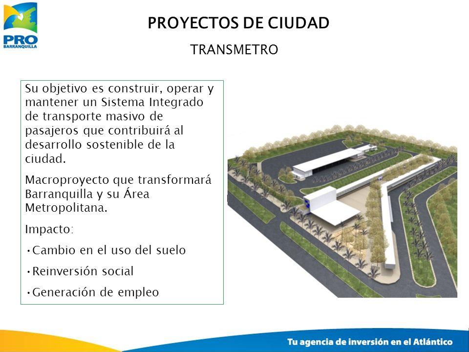 PROYECTOS DE CIUDAD TRANSMETRO