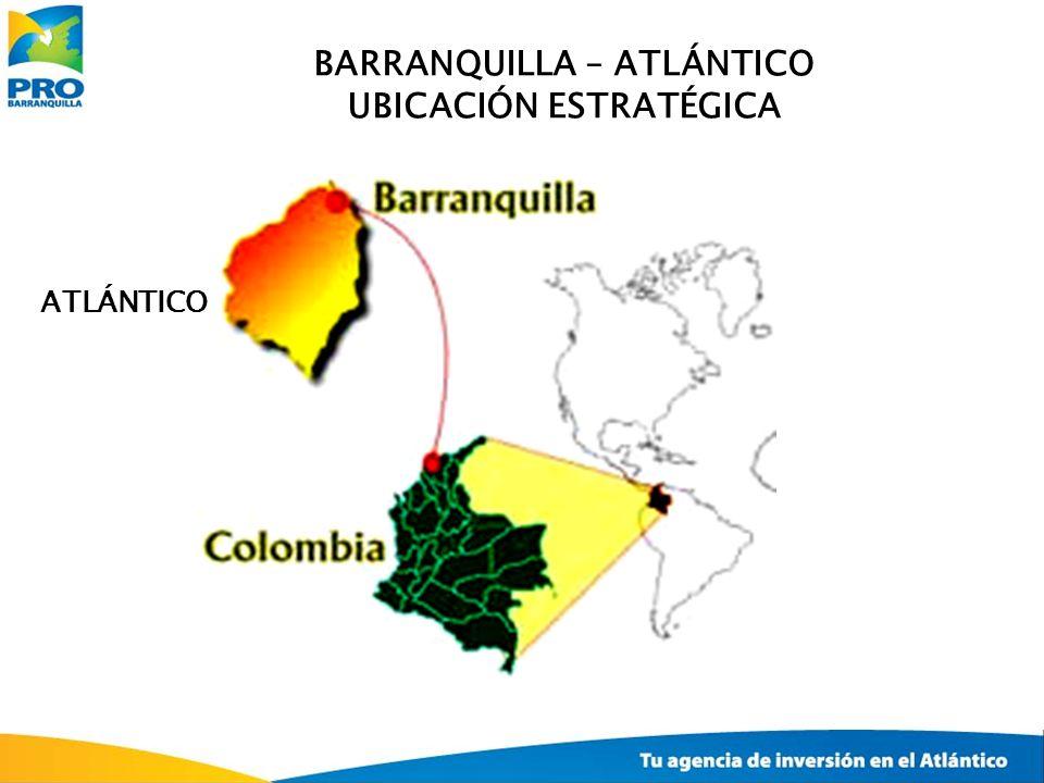 BARRANQUILLA – ATLÁNTICO UBICACIÓN ESTRATÉGICA