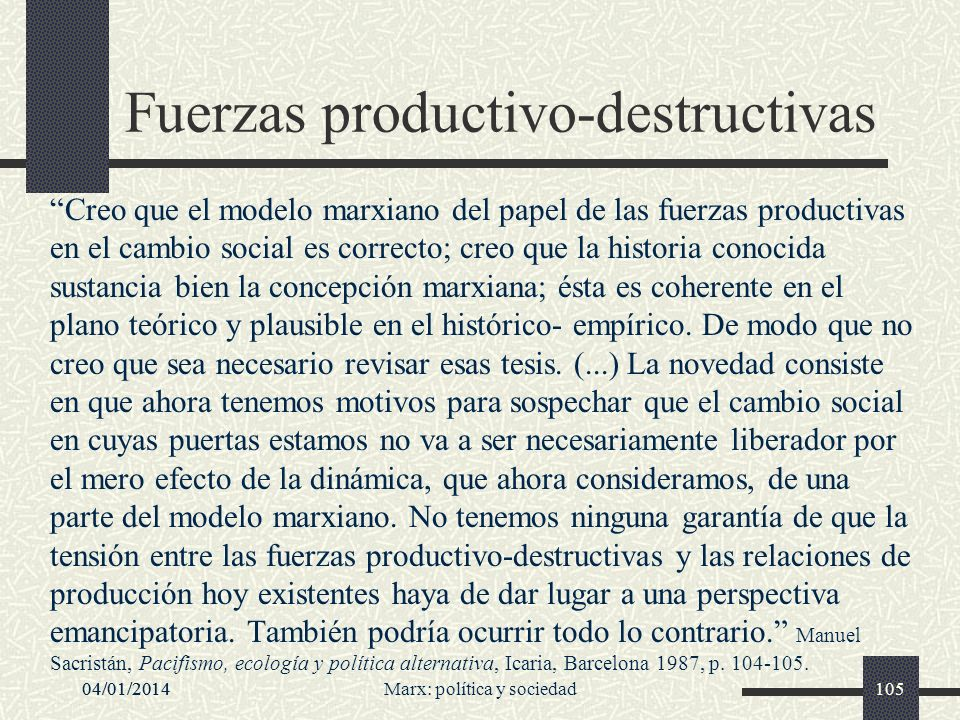 Fuerzas productivo-destructivas