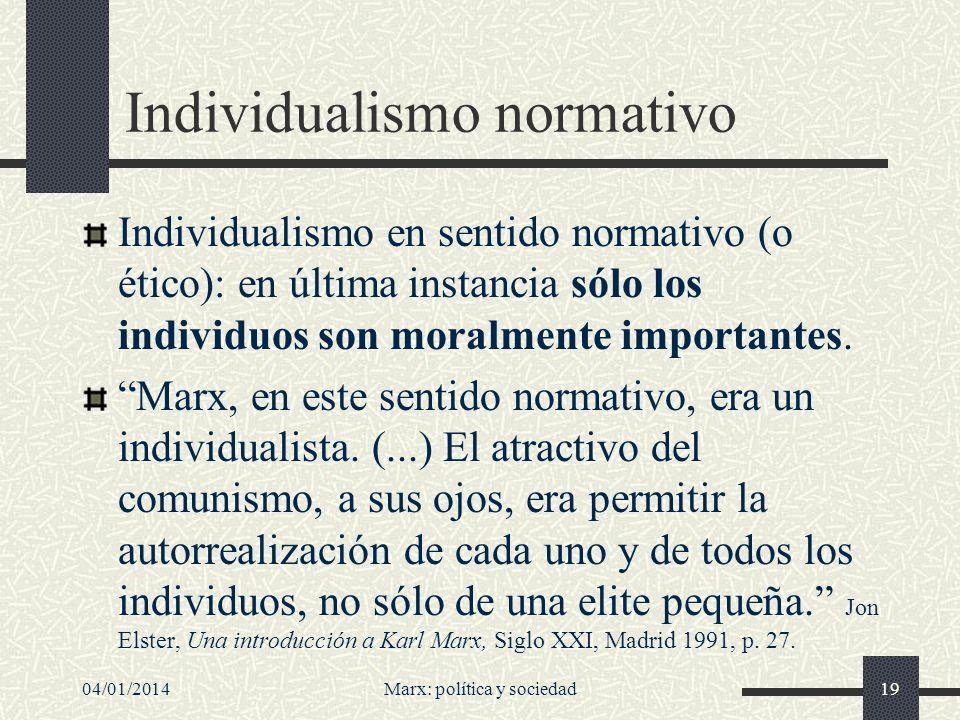 Individualismo normativo