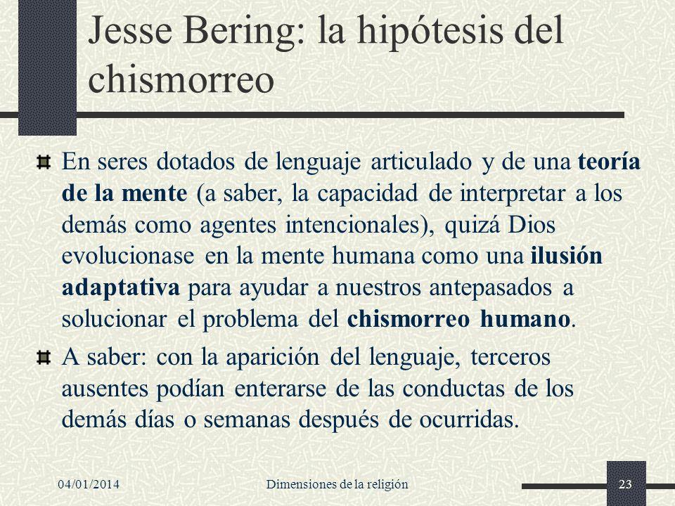 Jesse Bering: la hipótesis del chismorreo