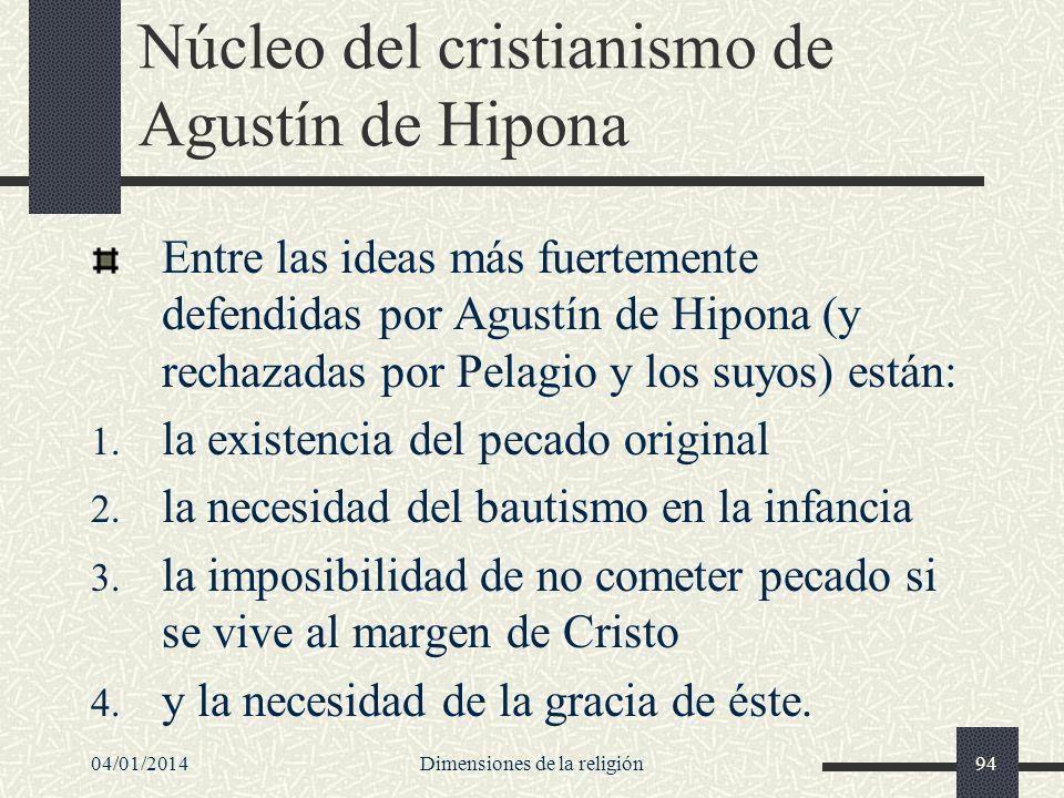 Núcleo del cristianismo de Agustín de Hipona