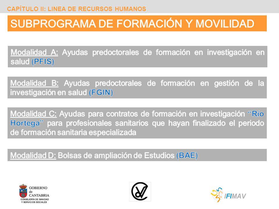 SUBPROGRAMA DE FORMACIÓN Y MOVILIDAD