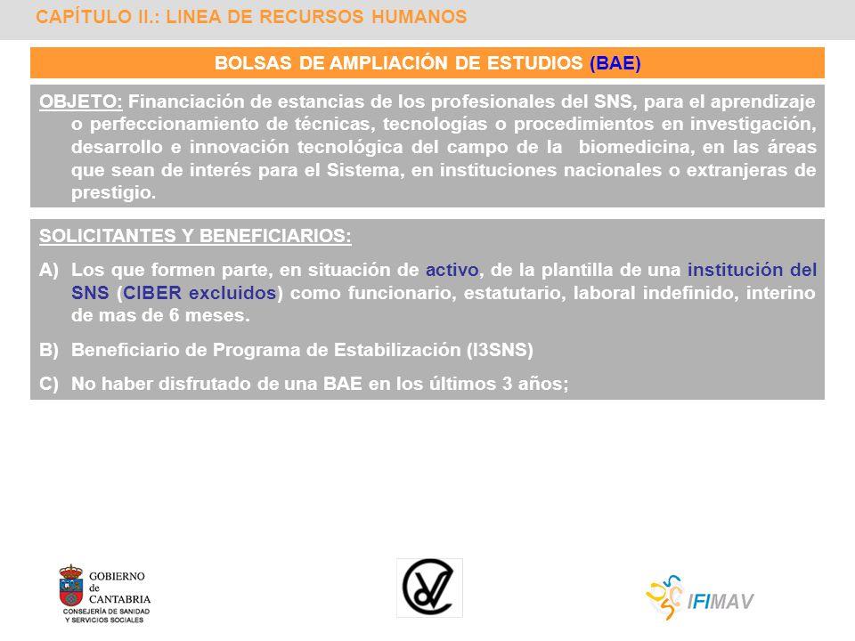 BOLSAS DE AMPLIACIÓN DE ESTUDIOS (BAE)