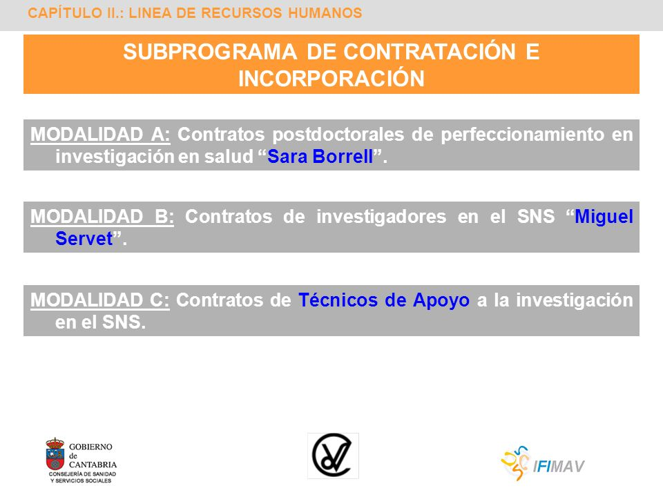 SUBPROGRAMA DE CONTRATACIÓN E INCORPORACIÓN